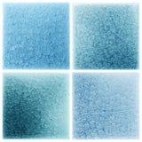 Ustalony błękitny mozaiki płytki wzoru tło Zdjęcia Stock