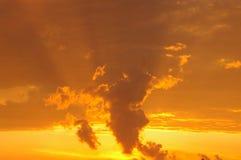 ustalony Diego słońce San Obrazy Royalty Free