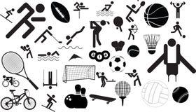 ustalony ikona sport ilustracji