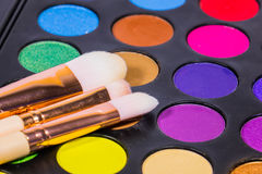 Ustalony kolor makijaż Zdjęcie Stock