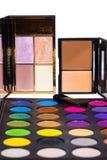 Ustalony kolor makijaż Zdjęcia Stock