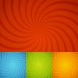 Ustalony kolorowy twirl tło Zdjęcia Stock