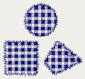 Ustalony patchwork royalty ilustracja