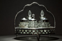 ustalony stół Obrazy Royalty Free