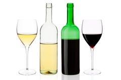 ustalony wino Zdjęcia Stock