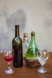 ustalony wino Obrazy Stock