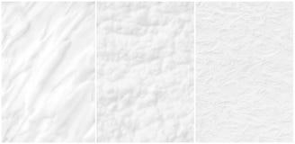 Ustalonych delikatnych tekstur biała kosmetyczna śmietanka zdjęcia stock