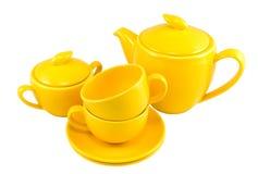 ustawić herbatę. Zdjęcia Royalty Free