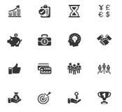 ustawić symbole jednostek gospodarczych ilustracja wektor