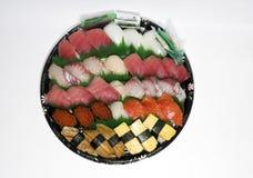 ustawić sushi Zdjęcia Royalty Free