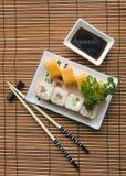 ustawić sushi Obraz Royalty Free