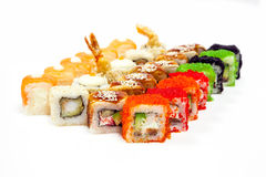 ustawić sushi Obrazy Royalty Free