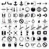 ustawić symbole Zdjęcie Stock
