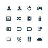 ustawić symbole komputerowych Obraz Royalty Free