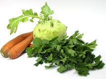 ustawić warzywa Zdjęcia Stock