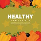 ustawić warzywa ilustracja wektor