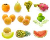 ustawiać świeże owoc Zdjęcia Royalty Free