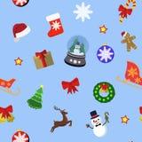 ustawiać Boże Narodzenie ikony royalty ilustracja