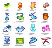 ustawiać cleaning ikony