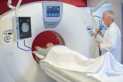 Ustawiać MRI program zdjęcia stock