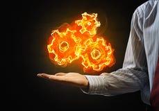 Ustawiać pożarniczą ikonę Fotografia Stock