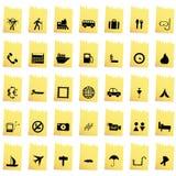Ustawiać podróży ikony Obraz Royalty Free