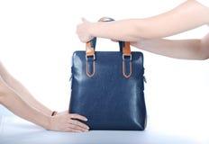 Ustawiać torebkę Zdjęcia Stock