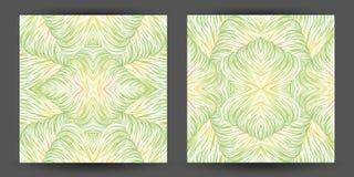 Ustawia abstrakta deseniowy bezszwowego kreskowej sztuki maswerk tekstur falowi brzęczenia Zdjęcie Stock