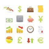 ustawiać biznesowe ikony ilustracji