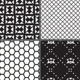 Ustawia geometria bezszwowego wzór. Wektorowy illustration/EPS 8 Obrazy Royalty Free