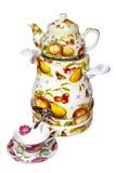 ustawia herbacianego artykuły Obraz Royalty Free
