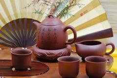 ustawia herbaty fotografia stock