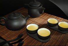 ustawia herbaty Zdjęcia Royalty Free