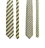 ustawia krawaty dwa Obraz Royalty Free