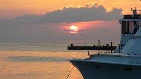 Ustawiać nad marina Obrazy Royalty Free