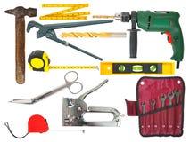 ustawia narzędzi target1514_1_ Zdjęcia Royalty Free