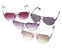 ustawia okulary przeciwsłoneczne Obrazy Royalty Free