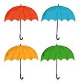 ustawia parasol Zdjęcie Stock