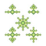 Ustawia rhombus loga Obraz Stock