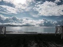 Ustawia scenę dla seascape Obraz Royalty Free