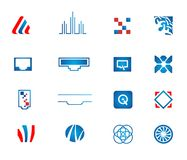 Ustawiać sieci wektorowe ikony Obrazy Stock