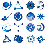 ustawia symbole Obrazy Stock