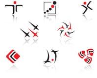 ustawia symbole Obraz Royalty Free