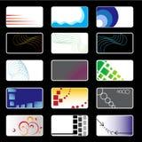 Ustawiać TARGET794_0_ Karty Obraz Stock