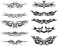 ustawia tatuaże Zdjęcia Stock