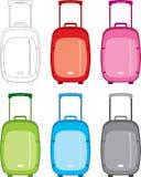 ustawia walizkę Obraz Stock