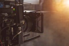 Ustawiająca film kamera fotografia royalty free