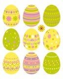 ustawiający Easter jajka Royalty Ilustracja