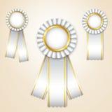 ustawiający nagrodzoni faborki Obraz Stock