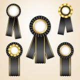 ustawiający nagrodzoni faborki Zdjęcie Royalty Free
